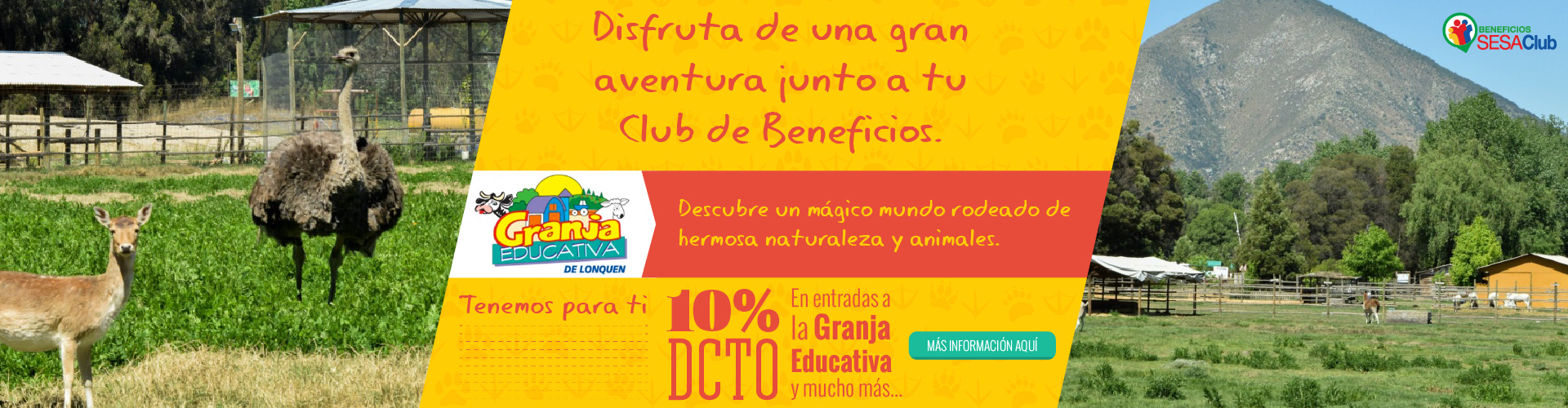 Club de beneficios | Granja Educativa